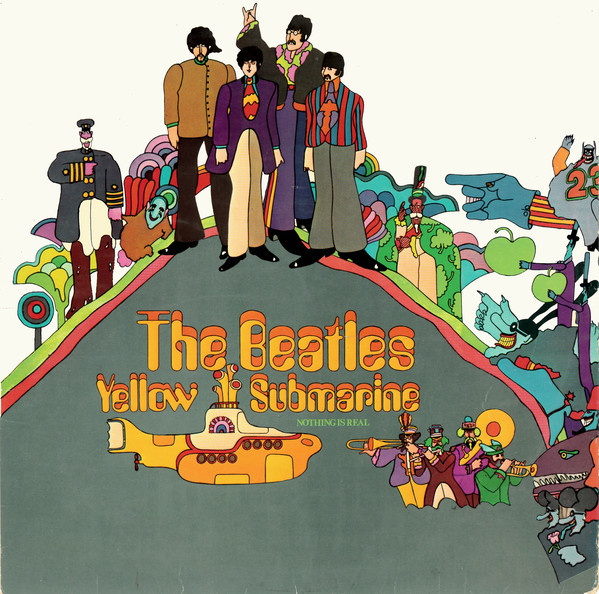 Cover zu The Beatles - Yellow Submarine (LP, Album) Schallplatten Ankauf