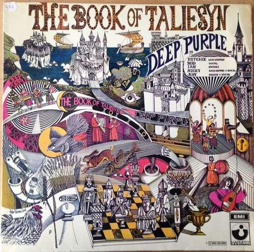 Cover zu Deep Purple - The Book Of Taliesyn (LP, Album, Gat) Schallplatten Ankauf