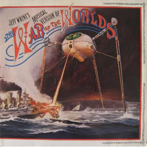 Cover Jeff Wayne - Jeff Wayne's Musical Version Of The War Of The Worlds (2xLP, Album, Mixed, Gat) Schallplatten Ankauf