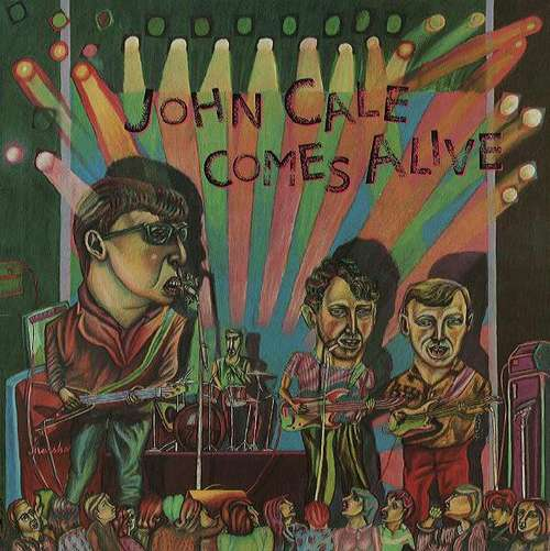 Bild John Cale - Comes Alive (LP, Album) Schallplatten Ankauf