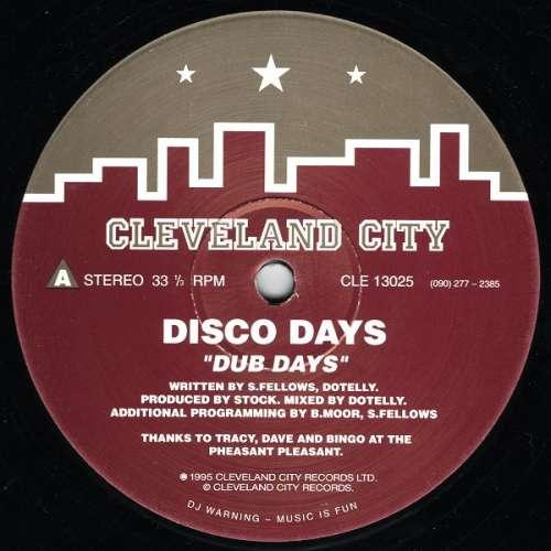 Bild Disco Days - Dub Days (12) Schallplatten Ankauf
