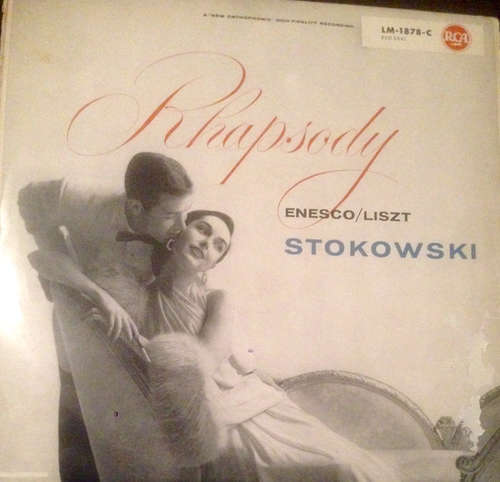 Bild Liszt* - Members of the NBC Symphony Orchestra* - Enesco* - Leopold Stokowsky And His Orchestra* Conducted By Leopold Stokowski - Rhapsody Liszt Enesco Stokowski (LP) Schallplatten Ankauf