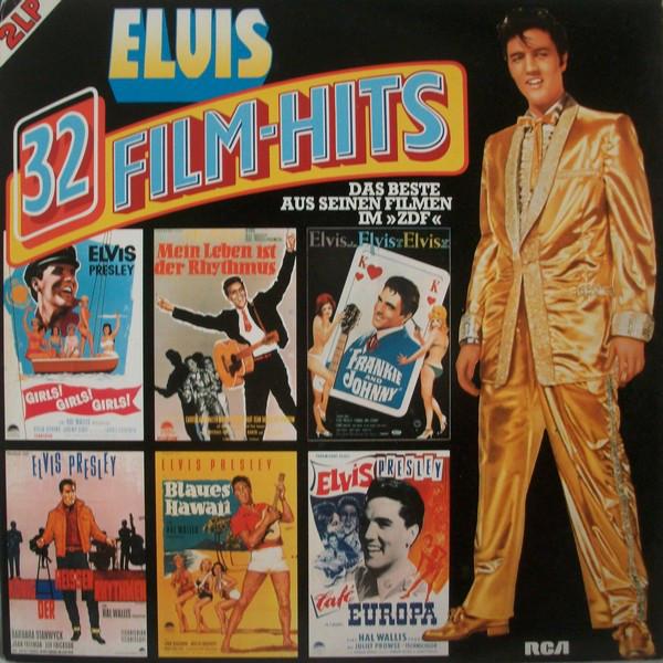 Cover Elvis Presley - 32 Film-Hits (2xLP, Comp, Club) Schallplatten Ankauf