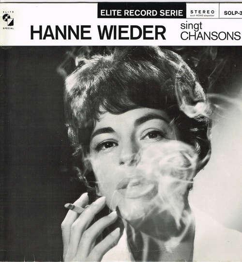 Bild Hanne Wieder - Hanne Wieder Singt Chansons (LP) Schallplatten Ankauf