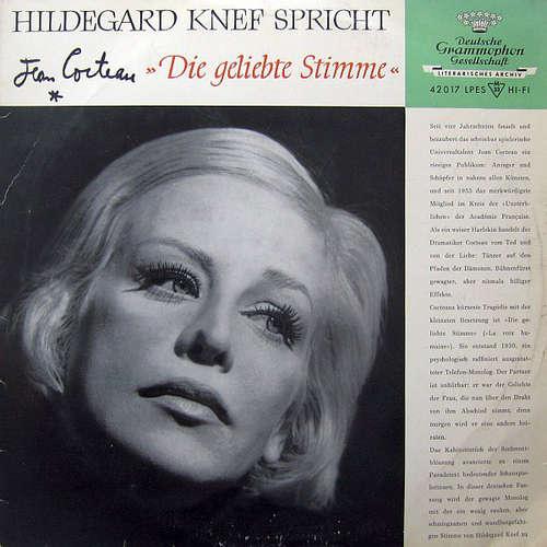 Bild Hildegard Knef Spricht Jean Cocteau - Die Geliebte Stimme (10, Mono) Schallplatten Ankauf