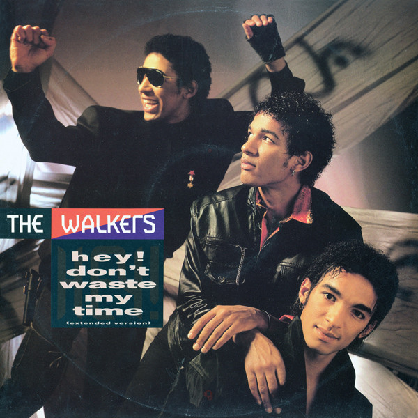 Cover The Walkers - Hey! Don't Waste My Time (12) Schallplatten Ankauf