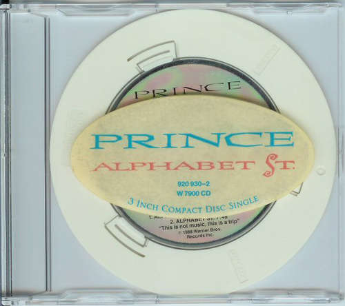 Cover Prince - Alphabet St. (CD, Mini, Single) Schallplatten Ankauf