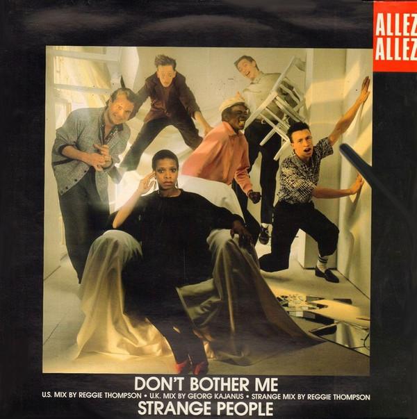 Bild Allez Allez - Don't Bother Me / Strange People (12) Schallplatten Ankauf