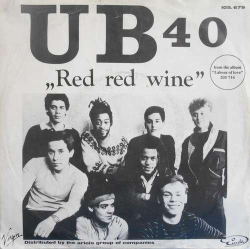 Cover UB 40* - Red Red Wine (7, Single) Schallplatten Ankauf