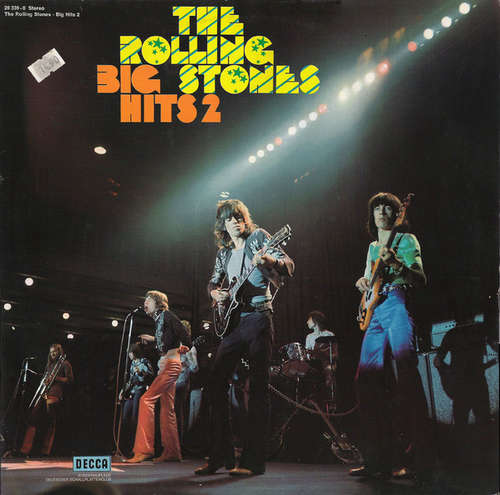 Cover The Rolling Stones - Big Hits 2 (LP, Comp, Club, RE) Schallplatten Ankauf