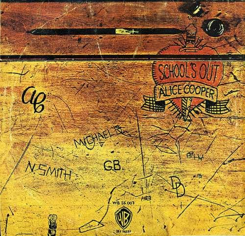 Cover zu Alice Cooper - School's Out (LP, Album) Schallplatten Ankauf