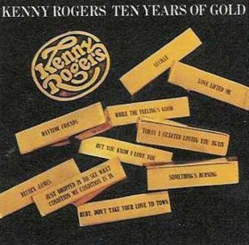 Bild Kenny Rogers - Ten Years Of Gold (LP, Comp) Schallplatten Ankauf
