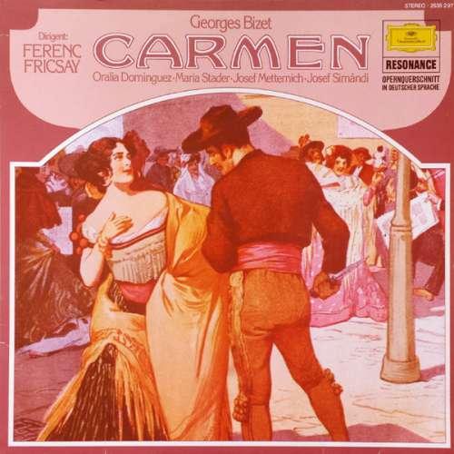 Bild Georges Bizet, Ferenc Fricsay - Carmen (Opernquerschnitt In Deutscher Sprache) (LP, Album) Schallplatten Ankauf