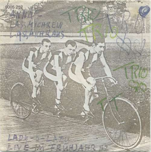 Cover Trio - Anna - Lassmichrein Lassmichraus (7, Single) Schallplatten Ankauf