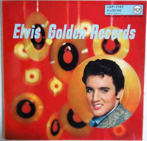Cover Elvis Presley - Elvis' Golden Records (LP, Comp) Schallplatten Ankauf