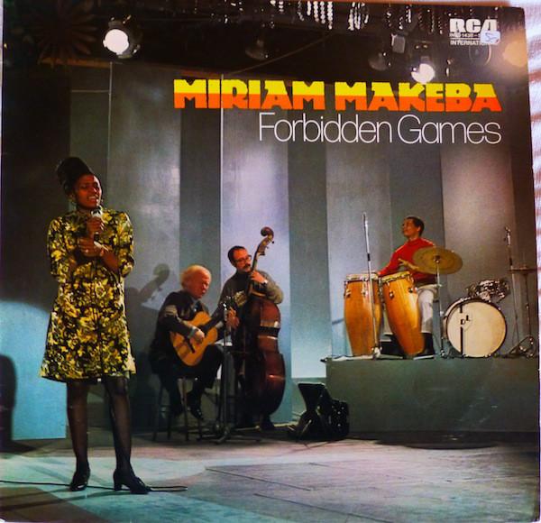 Bild Miriam Makeba - Forbidden Games (LP, Comp) Schallplatten Ankauf