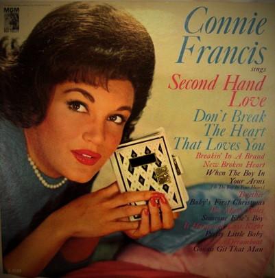 Bild Connie Francis - Second Hand Love And Other Hits (LP, Album, Mono) Schallplatten Ankauf