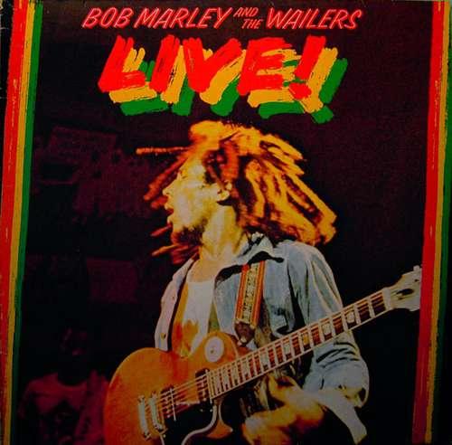 Cover zu Bob Marley And The Wailers* - Live! (LP, Album) Schallplatten Ankauf