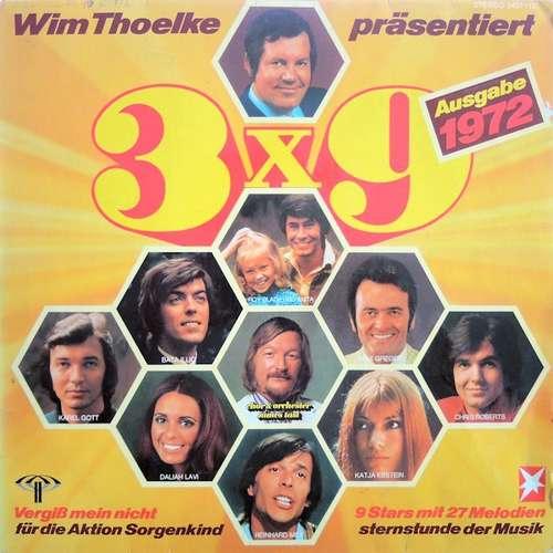 Bild Various - 3x9 (9 Stars Mit 27 Melodien, Sternstunde Der Musik, Ausgabe 1972) (LP, Comp, P/Mixed) Schallplatten Ankauf