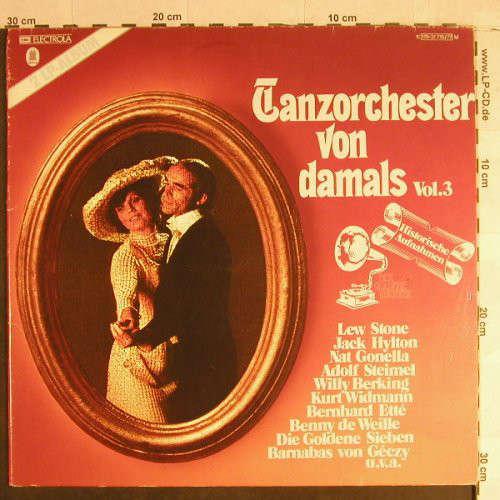 Cover Various - Tanzorchester Von Damals Vol. 3 (2xLP, Comp) Schallplatten Ankauf