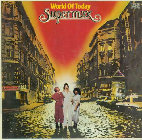 Cover zu Supermax - World Of Today (LP, Album) Schallplatten Ankauf