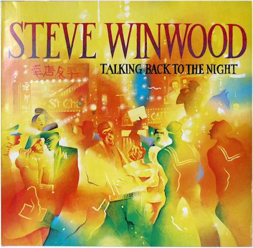 Bild Steve Winwood - Talking Back To The Night (LP, Album) Schallplatten Ankauf