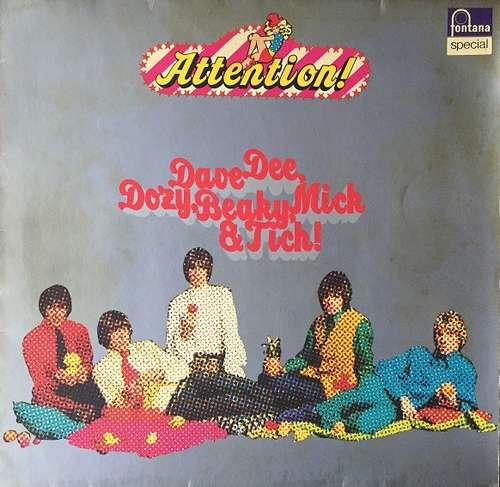 Bild Dave Dee, Dozy, Beaky, Mick & Tich - Attention! Dave Dee, Dozy, Beaky, Mick & Tich (LP, Comp) Schallplatten Ankauf