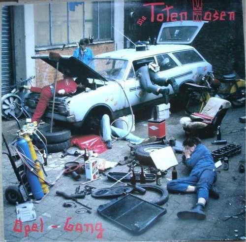 Cover Die Toten Hosen - Opel-Gang (LP, Album, RP) Schallplatten Ankauf