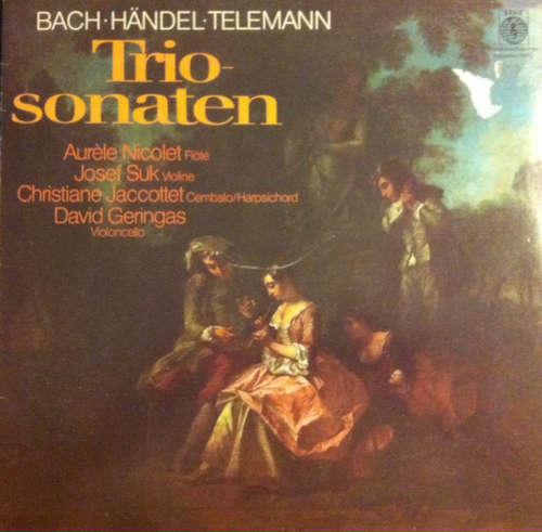 Bild Bach*, Bach*, Händel*, Telemann* - Triosonaten (LP, Album) Schallplatten Ankauf