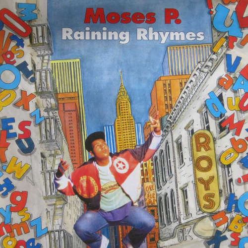 Cover Moses P.* - Raining Rhymes (LP, Album) Schallplatten Ankauf