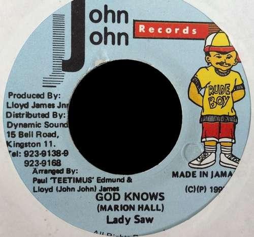 Bild Lady Saw - God Knows (7) Schallplatten Ankauf