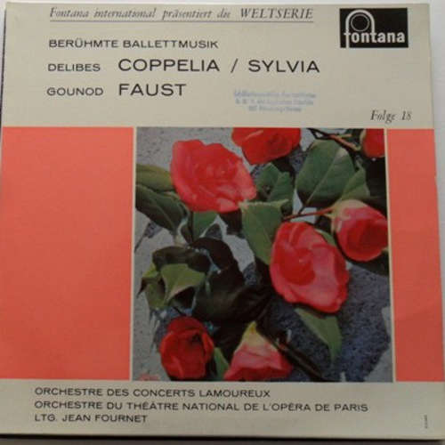 Cover zu Delibes*, Gounod* - Coppelia/Sylvia, Faust (LP) Schallplatten Ankauf
