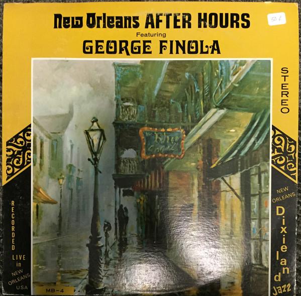 Cover George Finola - New Orleans After Hours (LP) Schallplatten Ankauf