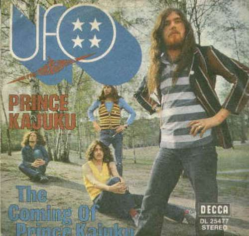 Cover UFO (5) - Prince Kajuku / The Coming Of Prince Kajuku (7, Single) Schallplatten Ankauf