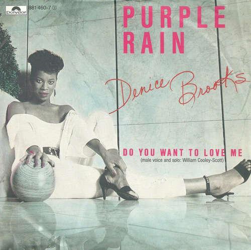 Bild Denice Brooks - Purple Rain  (7, Single) Schallplatten Ankauf
