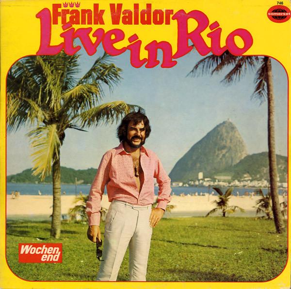 Cover Frank Valdor - Live In Rio (LP, Album) Schallplatten Ankauf