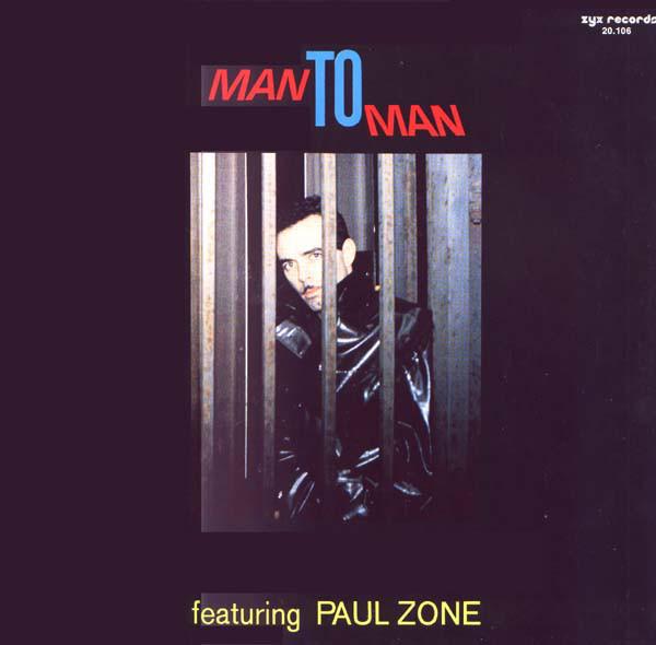 Cover Man To Man* Featuring Paul Zone - Man To Man (LP, Album) Schallplatten Ankauf