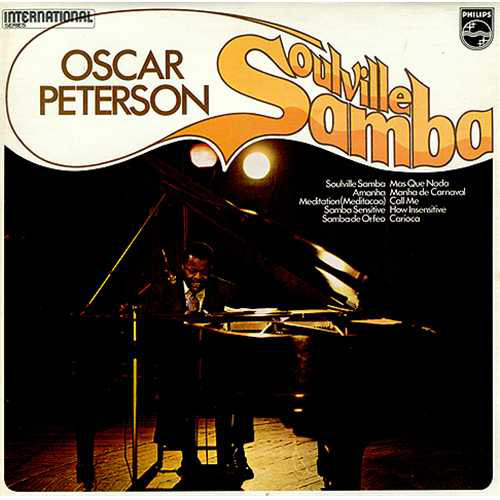 Cover The Oscar Peterson Trio - Soulville Samba (LP) Schallplatten Ankauf