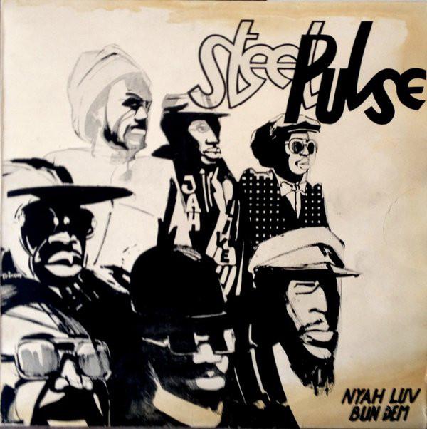 Cover Steel Pulse - Bun Dem / Nyah Luv (12) Schallplatten Ankauf