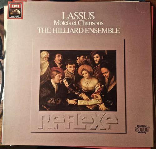 Cover zu Lassus* - The Hilliard Ensemble - Motets Et Chansons (LP) Schallplatten Ankauf