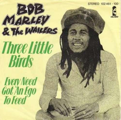 Cover Bob Marley & The Wailers - Three Little Birds (7, Single) Schallplatten Ankauf