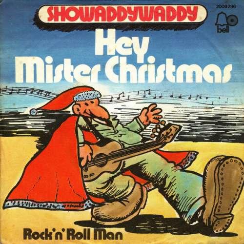 Cover Showaddywaddy - Hey Mister Christmas (7, Single) Schallplatten Ankauf