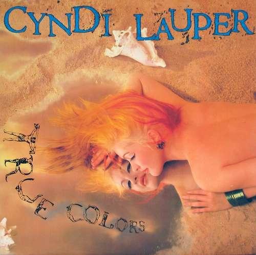 Cover zu Cyndi Lauper - True Colors (LP, Album) Schallplatten Ankauf
