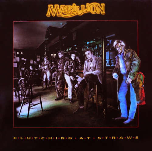 Cover Marillion - Clutching At Straws (LP, Album, Clu) Schallplatten Ankauf