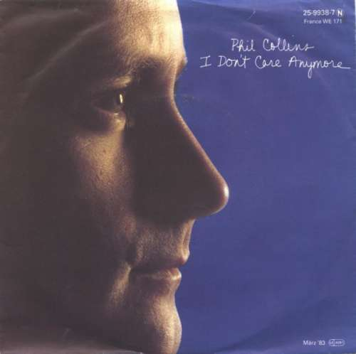 Bild Phil Collins - I Don't Care Anymore (7, Single) Schallplatten Ankauf