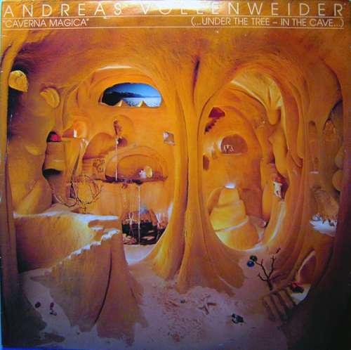 Cover Andreas Vollenweider - Caverna Magica (...Under The Tree - In The Cave...) (LP, Album, Hal) Schallplatten Ankauf
