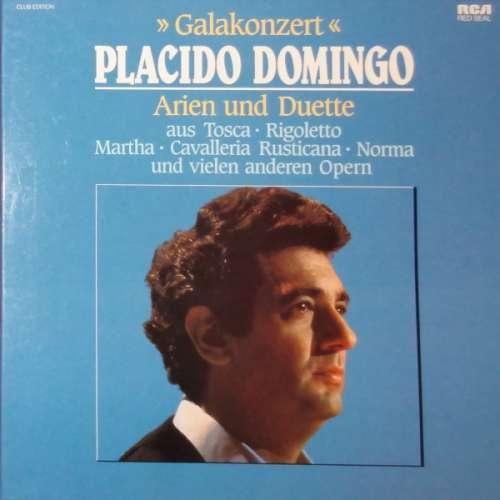 Cover Placido Domingo - Galakonzert, Arien Und Duette (3xLP, Album) Schallplatten Ankauf