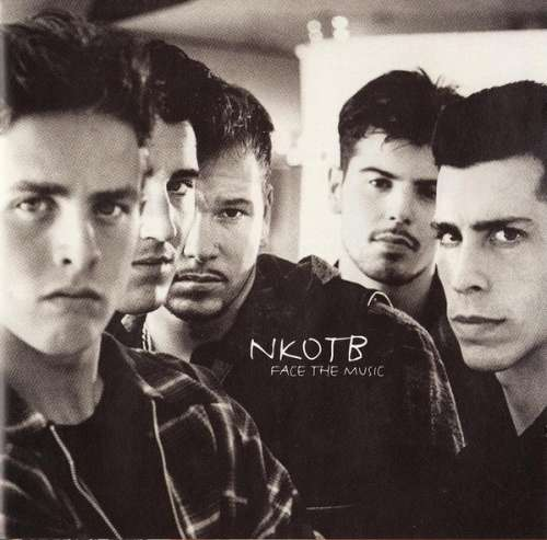 Cover NKOTB* - Face The Music (CD, Album) Schallplatten Ankauf