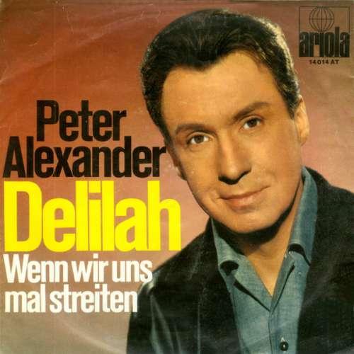 Bild Peter Alexander - Delilah (7, Single, Mono) Schallplatten Ankauf