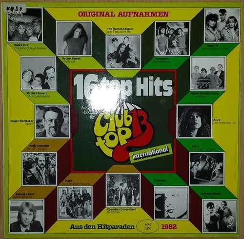 Cover Various - 16 Top Hits - Mai/Juni 82 (LP, Comp) Schallplatten Ankauf